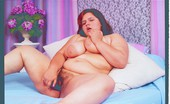 Plumpers And BW Karla Lane Fat Lady In Lingerie Playing With Her Toys Plumpers And BW