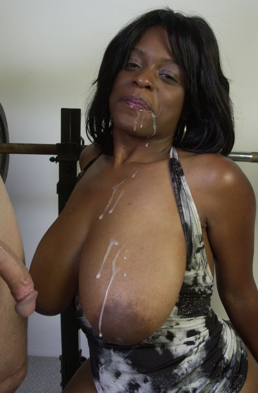 Ebony Destroyed White Cock