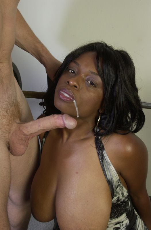 Bbw Black Deepthroating Dick