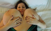 Divine Breasts Mara Soft Huge Boobs In Bed Divine Breasts