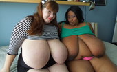 Divine Breasts Lexxxi And Cotton BBW Bedroom Play Divine Breasts