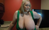 Divine Breasts Reyna Juicy Giant Juggs Blonde Divine Breasts