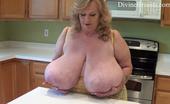Divine Breasts Suzie Bouncing Big Boobs Divine Breasts