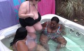 Divine Breasts Lexxxi Big Boobs Hot Tub BBWs Divine Breasts