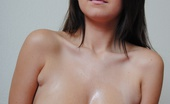 Chubby Girls.net 547498 Chrissy Chrissy Massages Baby Oil Into Her Big Boobs Chubby Girls.net
