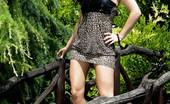 Sandra Shine Live 549827 Sandra Shine Big Titted Brunette Sandra Shine Posing Sexy Outdoors In Leopard Dress Sandra Shine Live