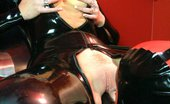 Amsterdam Rubber 550645 Kinky Redhead Gets Fucked With Dildo Amsterdam Rubber