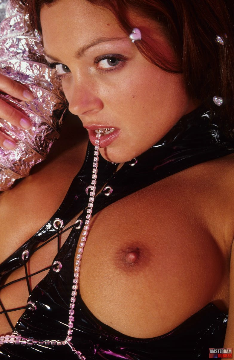 Amsterdam Rubber 550675 Redhead Kinky Beauty Loves To Play Amsterdam Rubber