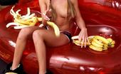 Czech Sex Club Pigtailed Blonde Czech Cutie Sucking A Fat Banana With Lust Czech Sex Club