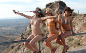 Desert Cuties Three Girls Get Naked In The Desert Desert Cuties