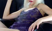Smoking Divas Bleached Blonde Blows Smoke Smoking Divas
