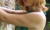 Shiny Knickers 551816 Girl Next Door In Shiny Smaragd Top And Pants Shiny Knickers