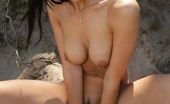 Sweet Monika Awesome Outdoor Images Of Monika'S Pussy Wide Open Sweet Monika