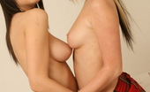 Lesbo Brits Alicia And Chantelle Naughty Teen Schoolgirls Get All Naked And Naughty Lesbo Brits