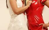 Lesbo Brits 552133 Alicia And Lisa Naughty British Teens Play Kinky Nurse And Patient Lesbo Brits