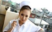 Japan Dreams Ai & Rio & Yuki Three Very Sexy Japanese Nurse Babes Teasing Japan Dreams