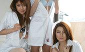 Japan Dreams Yuu Amamiya & Cocoa & Ai Crazy Wild Japanese Group Fuck In The Classroom Japan Dreams