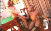 Interracial Sex House Black Guy Fucks Smooth White Babe In The Floor Interracial Sex House