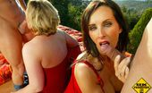 UK Road Trips Angie George British Bitches Banged In Hot Outdoor Groupsex Adventure UK Road Trips