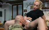 Pinko HD Monica Preziosi Italian Cougar Blonde Housewife Gets Fucked By A Soldier Pinko HD