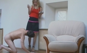 Pantyhose Screen Leah & Harry Lewd Babe Turning Guy Into Her Sex Toy For Worshipping Her Pantyhosed Legs Pantyhose Screen