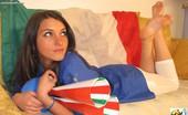 Passione Piedi Valentina Calciatrice Passione Piedi