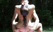 Nasty Adam and Eve 554790 Eve And Keesha Blow A Peeping Tom In The Woods Nasty Adam and Eve