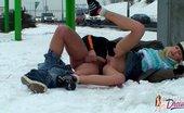 My Public Dreams Couple Of Flashers Enjoying Crazy Sex Near Autobahn In Snowy Season. My Public Dreams