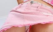 Full Bum Panties Pink Cotton Hearts Full Bum Panties
