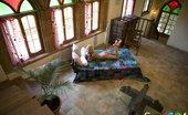 Sexy Goa Goa Hottie Flashes Bald Slit And Rubs Hard Clit Sexy Goa