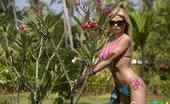 Sexy Goa Busty Teen Blonde Strips In The Tropics Sexy Goa