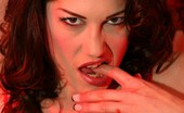 Almost Evil Girls Kymberly Jane Smashing Strawberries Almost Evil Girls