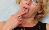 Czech Cougars Dominika Mother Dominika Older Pussy Stretching And Masturbation Czech Cougars