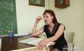 Czech Cougars Cecilie Ugly Grannie Cecilie Toys Her Unshaven Fuck Hole Czech Cougars