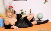 Czech Cougars 559940 Stepanka Horny Ripe Stepanka Masturbating In Addition To A Huge Plastic Dong In Lingerie Czech Cougars