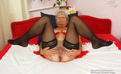 Czech Cougars 559941 Stepanka Orgasmic Ripe Stepanka Masturbating With A Big Fake Penis In Lingerie Czech Cougars