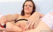 Czech Cougars Olena Olena Gapes Her Fuck Hole And Masterbates With A Thick Rubber Cock Czech Cougars