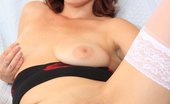 Czech Cougars Beatrix Beatrix The Mad Wife Doing A Stirring Solo In Stockings Czech Cougars