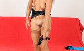 Czech Cougars Liba Excellent Ripe Fake Cock Action Plus A Flawless Thin Cougar Honey Czech Cougars