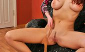 ePantyhose Land Barbara Dissolute Bigtitted Chick In Silky Pantyhose Pleasing Herself With Nylons ePantyhose Land