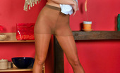 ePantyhose Land Jasmin Playful Chick In Flying Skirt Revealing Her Pussy Clad In Sheer Pantyhose ePantyhose Land