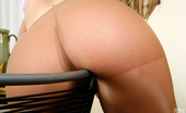 ePantyhose Land Florida Vivacious Chick Willingly Rubbing Her Pantyhosed Pussy Against The Stool ePantyhose Land
