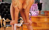ePantyhose Land Flossie Cutie Peels Off Her Sexy Lingerie While Fingering With Her Pantyhosed Hand ePantyhose Land
