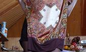 ePantyhose Land Shenythia Cutie In Sheer-To-Waist Pantyhose Changing Her Dark Dress For Colored One ePantyhose Land
