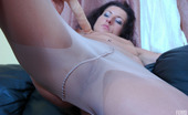 ePantyhose Land Regina Dressed-Up Babe Enjoys The Feeling Of Her Dildo In Her Soft Silky Pantyhose ePantyhose Land