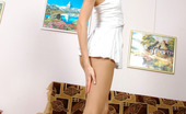 ePantyhose Land Dennis Playful Gal With Perfect Body Dressing In Her Silky Flesh-Colored Pantyhose ePantyhose Land