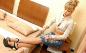 ePantyhose Land Dominica Naughty Chick In Control Top Tights Knowing The Best Way Of The Rest-Time ePantyhose Land