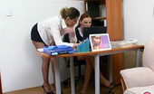 ePantyhose Land Rita & Marion Female Co-Workers In Soft Pantyhose Knowing The Best Way Of The Rest-Time ePantyhose Land