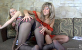 ePantyhose Land Nora & Paulina Lesbian Babes Get New Sensations Playing Nylon Games In Their Silky Tights ePantyhose Land