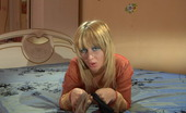 ePantyhose Land Gertrude Pantyhose-Loving Babe Tries To Decide Which Tights Fit Her Best Off All ePantyhose Land